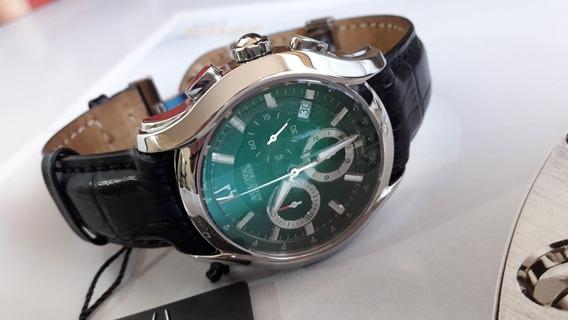 Relógio Bulova Accutron Swiss Made 43mm Impecável Com Estojo