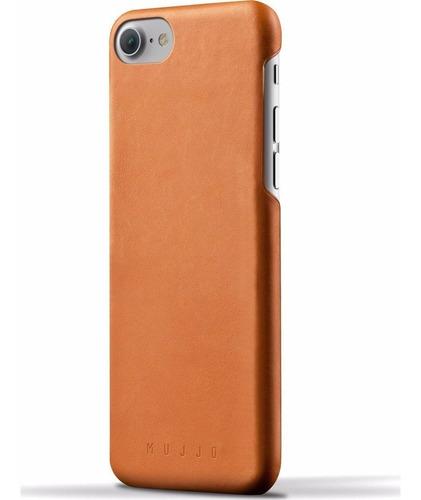 Mujjo Funda De Cuero iPhone Para 6 Y 6s Castaño Phone Store