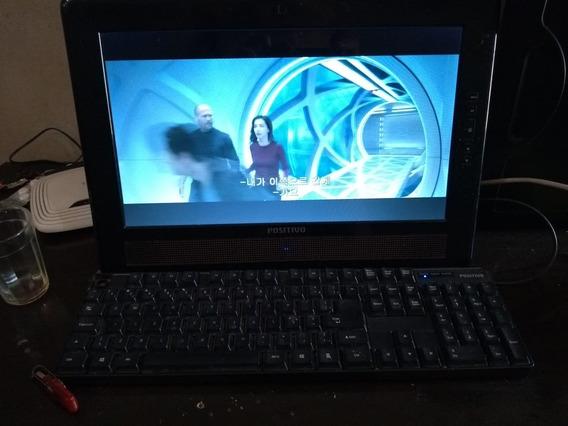 Computador Completo Com Monitor Teclado E Mouse