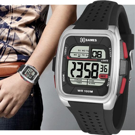 Relógio X-games Digital Esportivo Quadrado Xgppd104