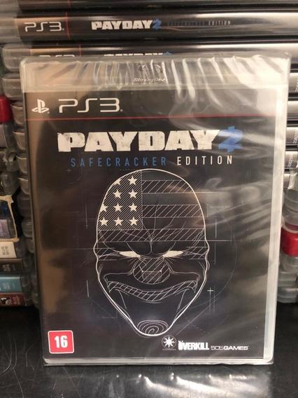 Jogo Ps3 Payday 2 Safecracker Edition Mídia Física Lacrado!!