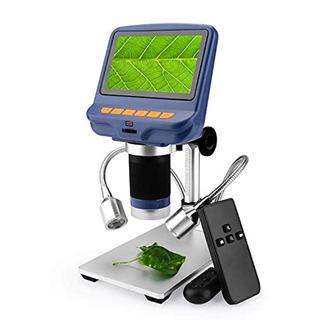 Microscopio Usb Cámara De Microscopio Digital 4,3 Pulgadas