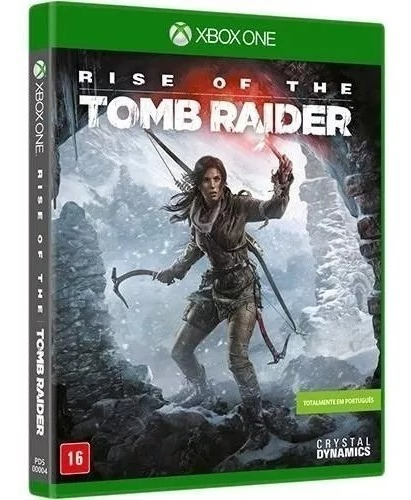 Jogo Rise Of The Tomb Raider Xbox One Mídia Física Semi-novo