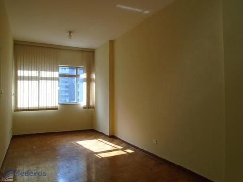 Apartamento 01 Dormitório Reformado, Ao Lado Metrô E Terminal De Ônibus Bandeira- Bela Vista. - Md877