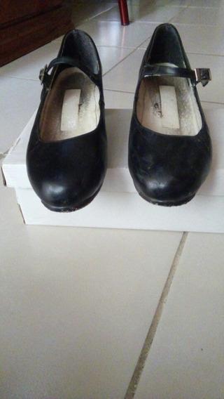 Zapatos De Danza, Negros.