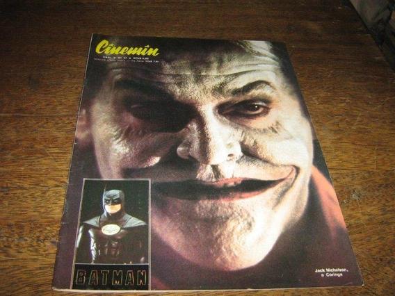 Cinemin Nº 57 C/ Capa Batman O Filme Jack Nicholson Ebal
