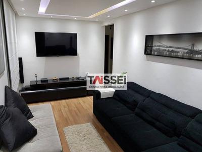 Apartamento Com 2 Dormitórios À Venda, 58 M² Por R$ 414.000 - Ipiranga - São Paulo/sp - Ap4890