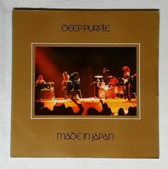Lp Album Duplo Deep Purple/made In Japan/1972/p Estado
