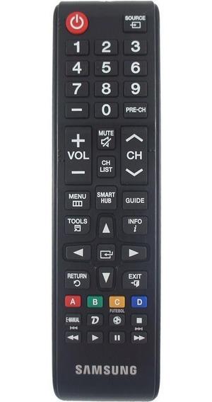 Remoto Samsung Original Com Tecla Smart-hub Bn98-06046a