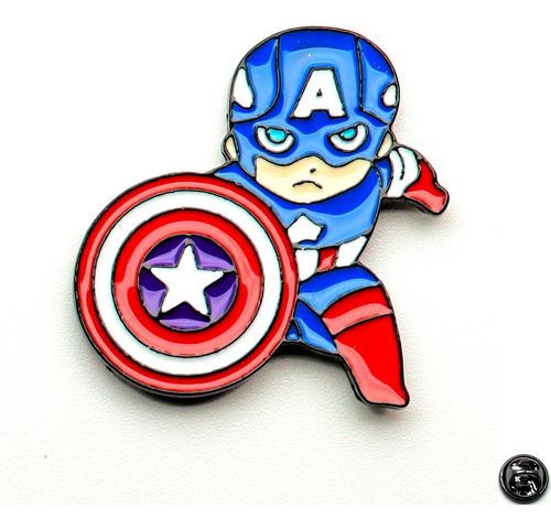 Prendedor (pin) Capitan America
