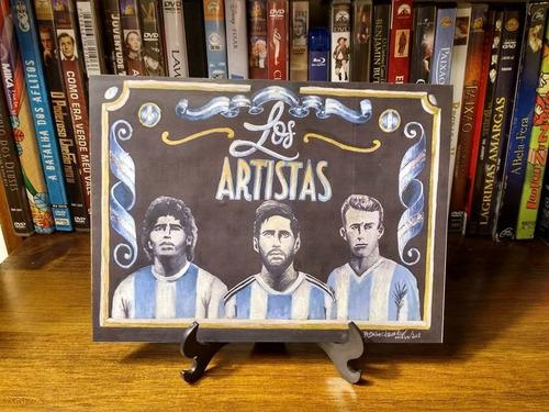 Mdf   Los Artistas  Gênios Do Futebol Argentino