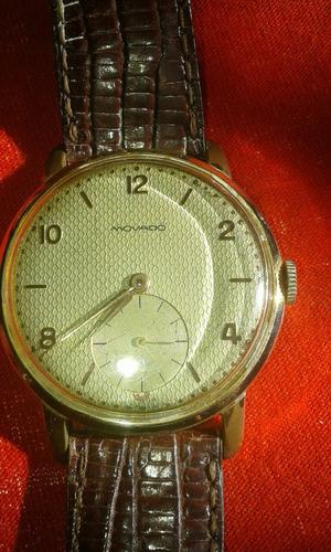 Reloj Movado Clasico Correa Piel De Cocodrilo
