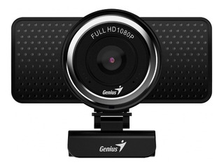 Webcam Genius S Rs Ecam 8000 1080p Microfono Digital Negra