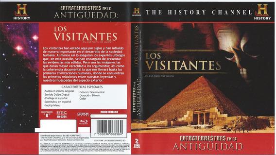Los Visitantes The Visitors Blu-ray Alienígenas Ancentrales