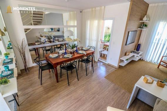 Casa Com 3 Dormitórios À Venda, 92 M² Por R$ 427.338 - Casa Da Toscana - Medeiros - Jundiaí/sp - Ca0003