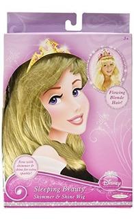 Peluca De Princesa De Disney, Bella Durmiente