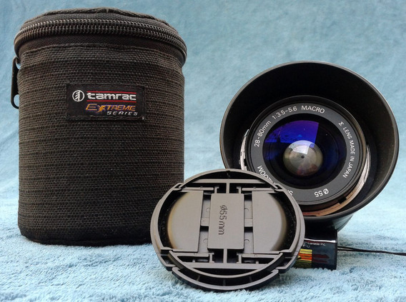 Lente - Sigma 28 - 80mm - 1.35 - 5.6 Macro