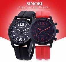 Relógio De Pulso Esportivo Pulseira De Silicone Em Promoção