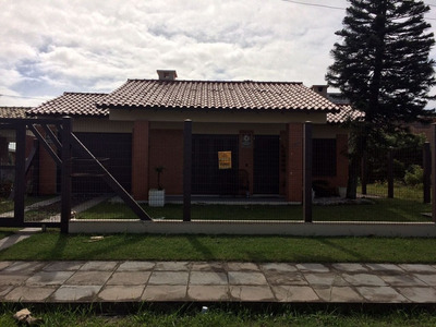 Casa Para Temporada, 3 Dormitórios, Zona Norte - Capão Da Canoa - 1062