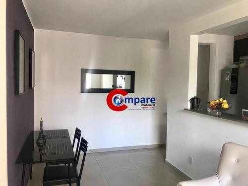 Apartamento Com 2 Dormitórios À Venda, 45 M² Por R$ 220.000 - Vila Rio De Janeiro - Guarulhos/sp - Ap9685