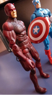 Marvel Demolidor Toybiz Visual Hqs Frank Miller Super-herois