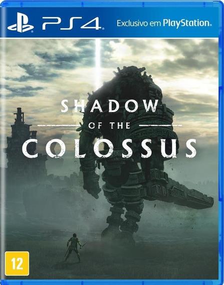Jogo Sony Shadow Of The Colossus Ps4 Blu-ray - Mídia Física