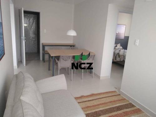 Apartamento Com 2 Dormitórios(1 Suíte) À Venda, 64 M² Por Á Partir De R$ 266.000 - Buraquinho - Lauro De Freitas/ba - Ap2921