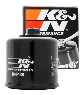 Filtro Oleo K&n Kn-138 Suzuki Gsxr Gsx R Srad 600 750 1000