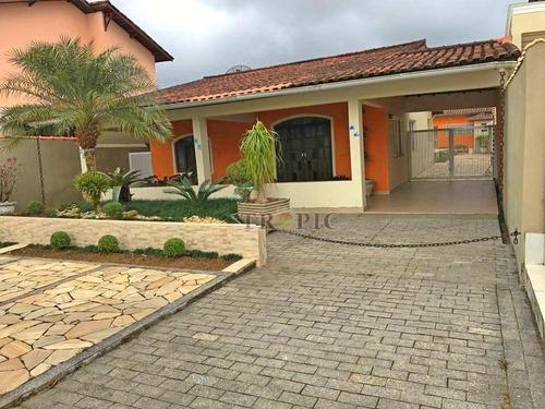 Casa Com 3 Dormitórios À Venda, 288 M² Por R$ 640.000,00 - Morada Da Praia - Bertioga/sp - Ca0016