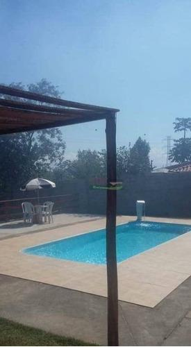 Imagem 1 de 7 de Chácara Com 2 Dormitórios À Venda, 890 M² Por R$ 390.000,00 - Granjas Rurais Reunidas - Taubaté/sp - Ch0577
