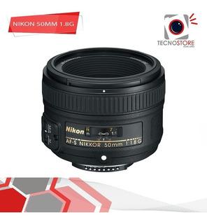 Nikon 50mm 1.8g, Buen Precio
