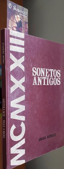 Sonetos Antigos - Abgar Renault - 1ª Edição