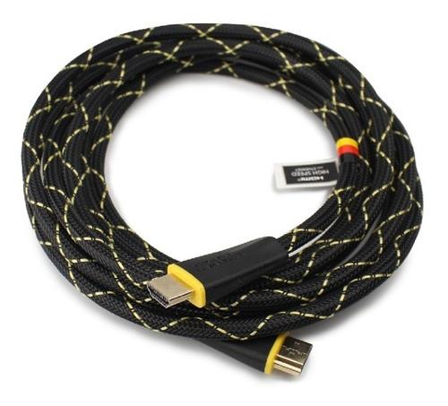 Cable Hdmi Full Hd 4k Oro Thonet Vander 3 Mts Referenz Envio
