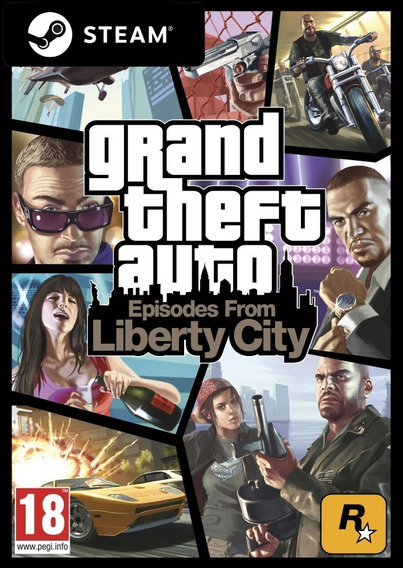 Grand Theft Auto: Episodes From Liberty City - Pc Steam Key