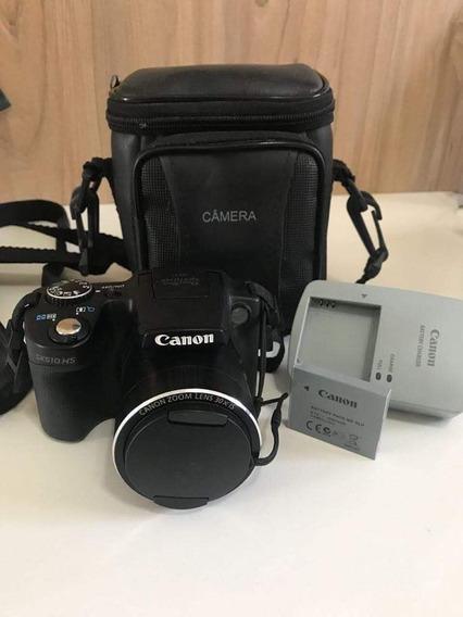 Câmera Canon Profissional Modelo Sx510hs Wifi