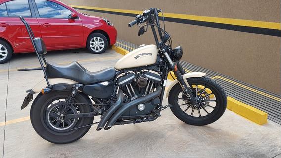 Harley-davidson Sportster 883 Iron Cor Areia