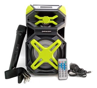 Parlante Portátil Bluetooth Panacom Sp3414wm Mic Inalámbrico