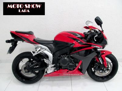 Honda Cbr 600rr 2008 Vermelha