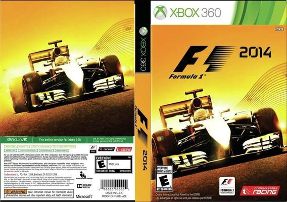 F1 2014 Xbox 360 - Midia Digital