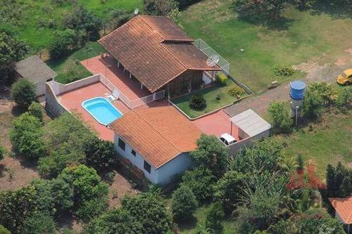 Chácara Com 2 Dormitórios À Venda, 5700 M² Por R$ 360.000,00 - Tupi - Piracicaba/sp - Ch0139