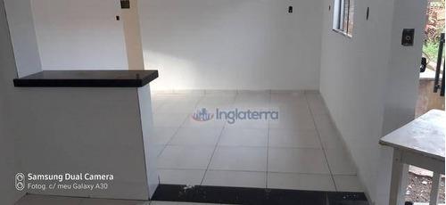 Casa À Venda, 100 M² Por R$ 300.000,00 - Santa Rita 1 - Londrina/pr - Ca1973