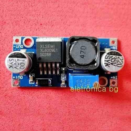 Conversor De Tensão Dc/dc Step Up Boost Xl6009 | Kit Com 3