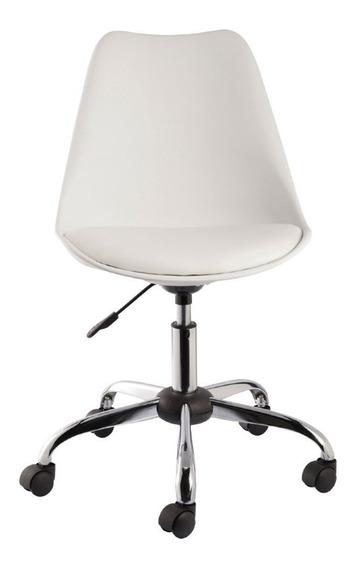 Kit 4 Cadeiras Eames Office Base Metal - Frete Grátis