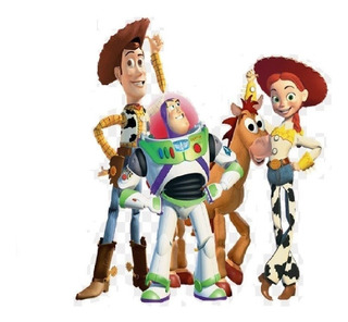Toy Story Set De Juguetes 4 Figuras Toy Story 17 Cm Env Inme