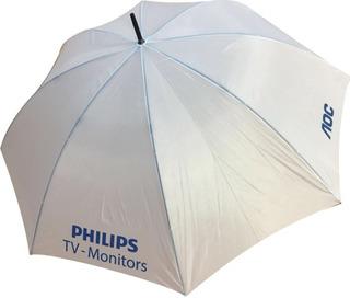 3 Paraguas Gigantes Con Logo Estampado Consultar Stock Color