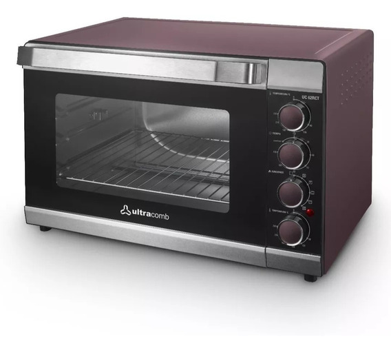 Horno Electrico Ultracomb Uc62rct 62litros Spiedo P
