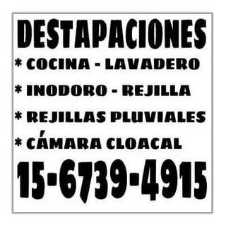 Destapaciones En Villa Urquiza, Villa Pueyrredon Y Saavedra.