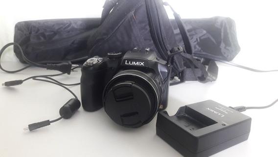 Câmera Profissional Panasonic Lumix Dmc-fz200 ( C/ Tripé)
