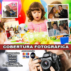 Cobertura Fotográfica Completa Para Seu Evento