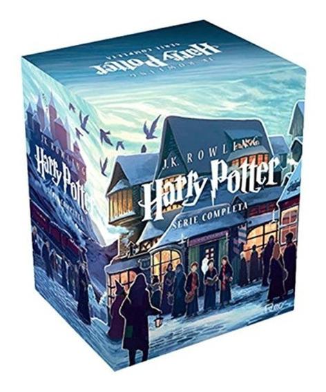 Box Livros Harry Potter Coleção Completa Novos Lacrados
